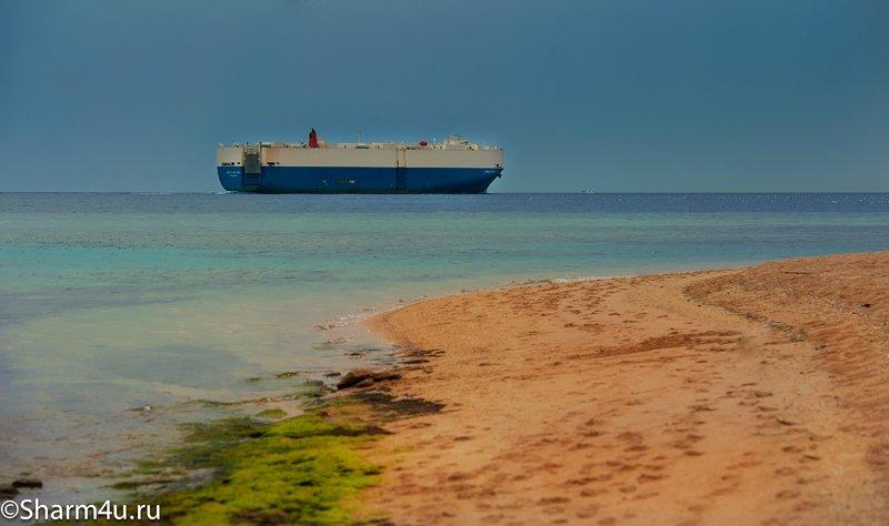 Пляжи в Шарм-эль-Шейхе: дикий пляж в Монтазе