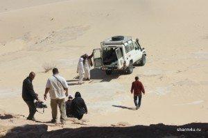 Сэндбординг - катание на доске по песку в Шарме