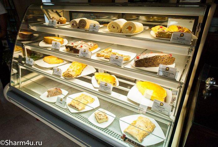 Немецкая кафе-булочная в Шарм эль Шейхе
