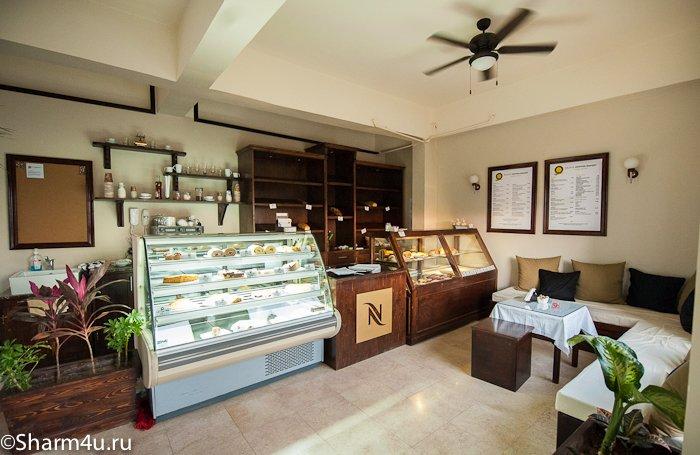 Кафе булочная в Шарме: внутри
