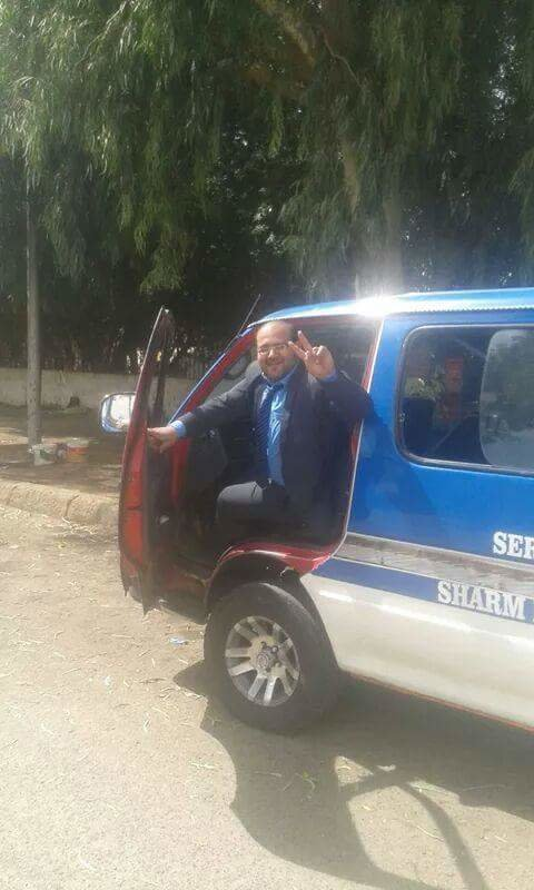 Водитель маршрутки в Шарме